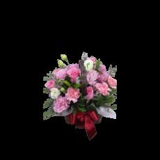 카네이션 바구니-핑크